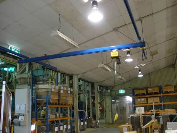 Aluminium Light Crane Systems and Monorails